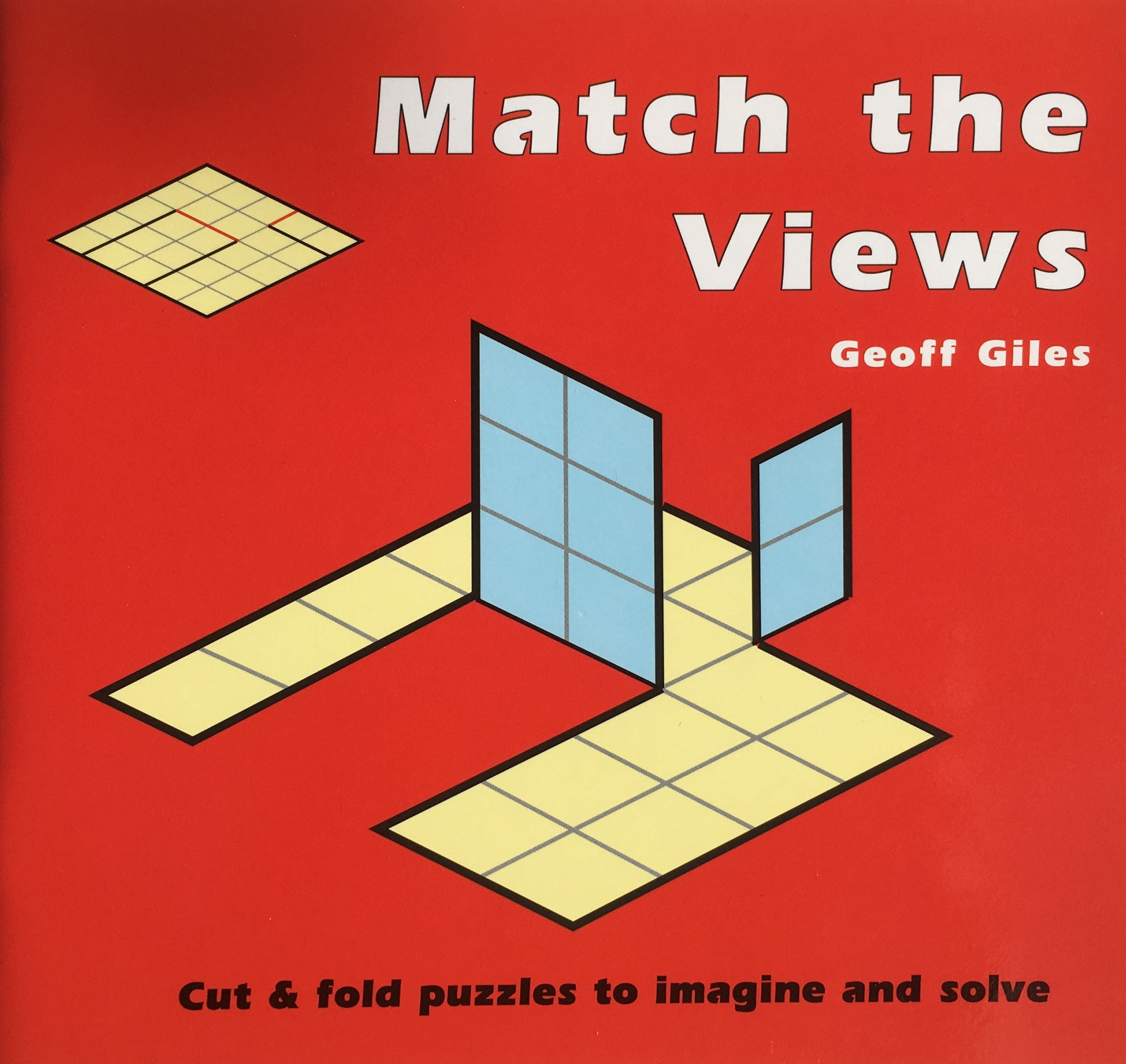 Match the Views: Cut and Fold Puzzles to Imagine and Solve