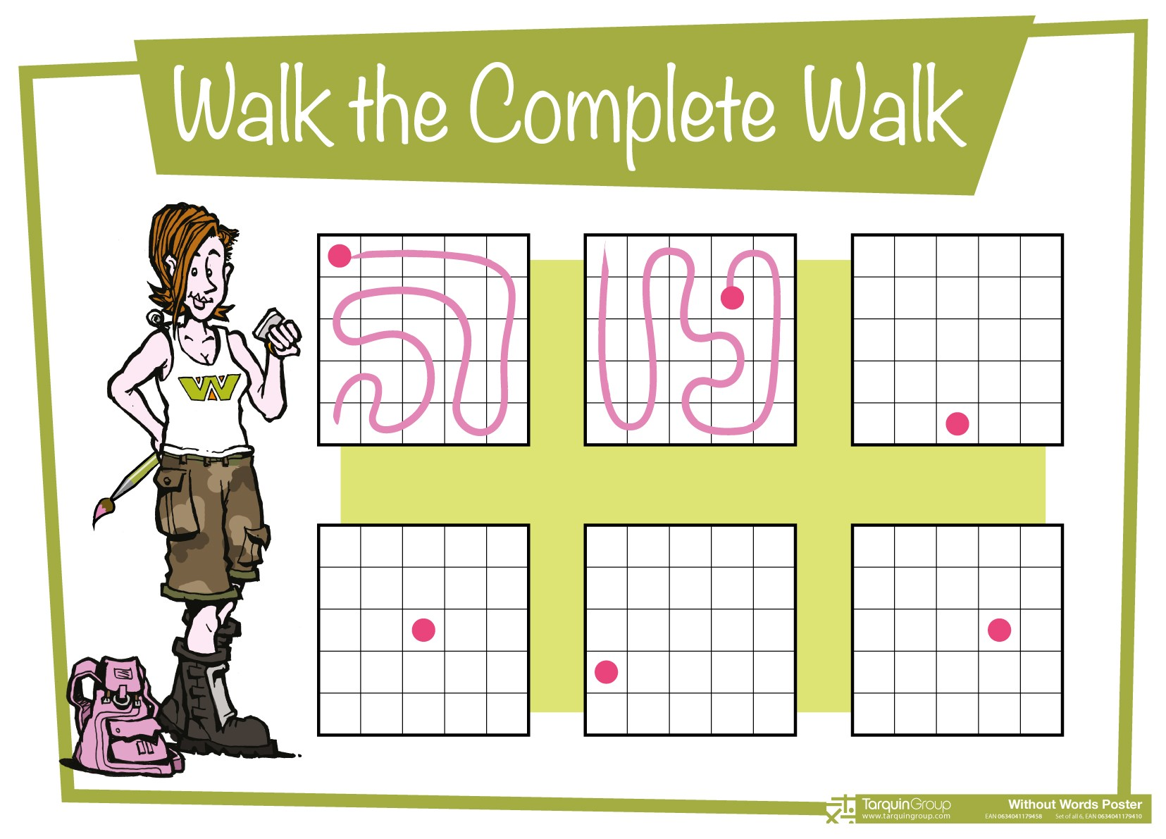 Walk the Complete Walk Poster