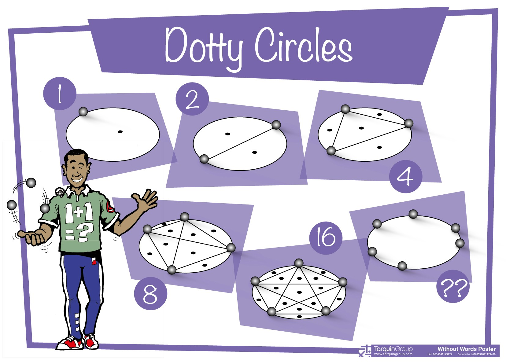 Dotty Circles Poster