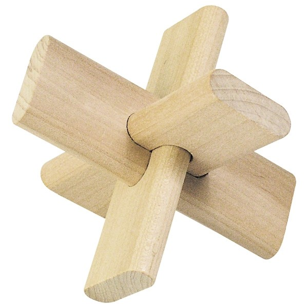 The Cross Wooden Puzzle