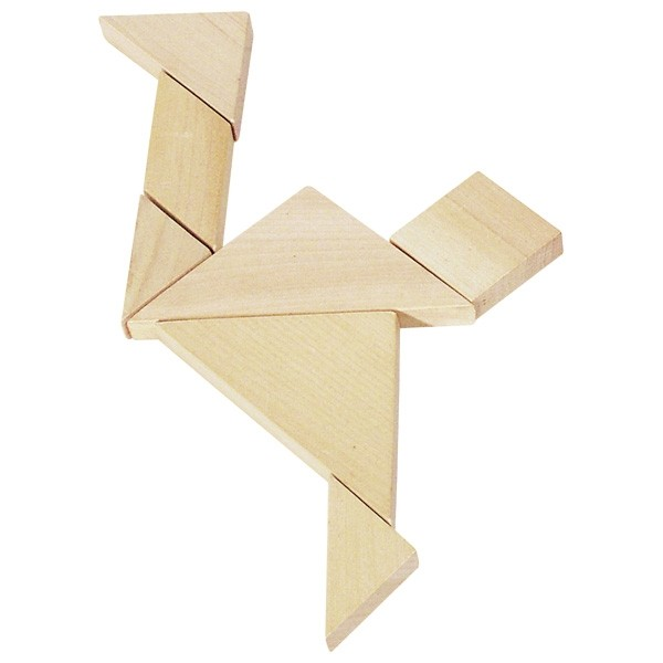 Tangram in Wood