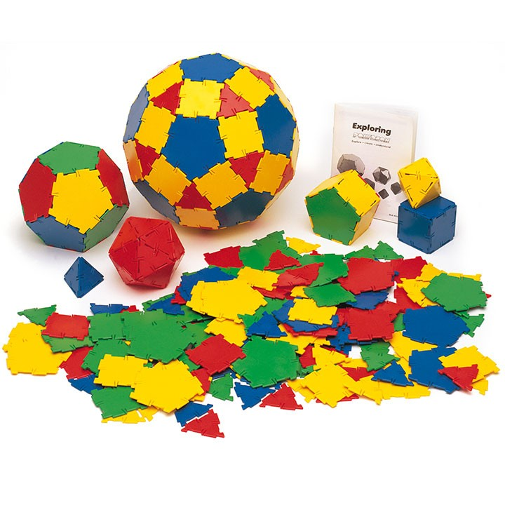 Polydron Basic Set (164 pieces)