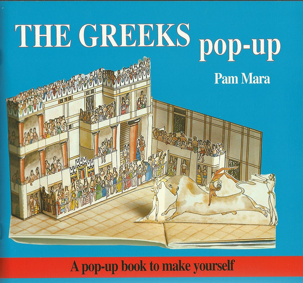 The Greeks Pop-up: Pop-up Book to Make Yourself