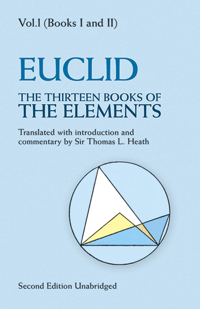 Euclid Elements Volume 1