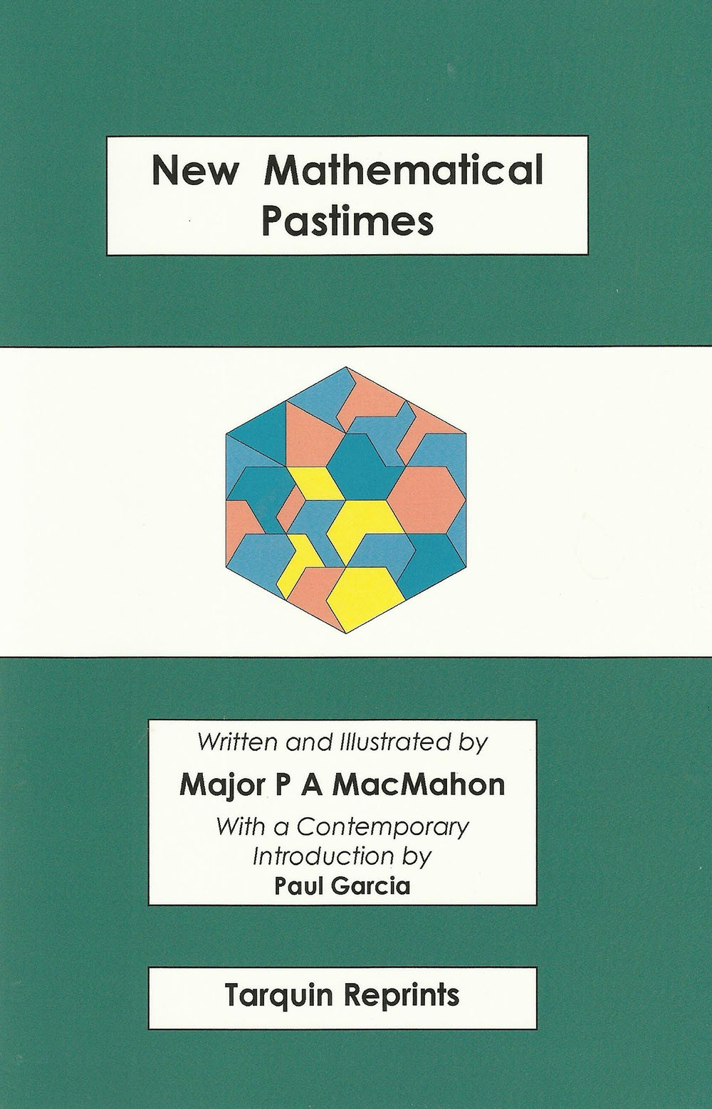 New Mathematical Pastimes