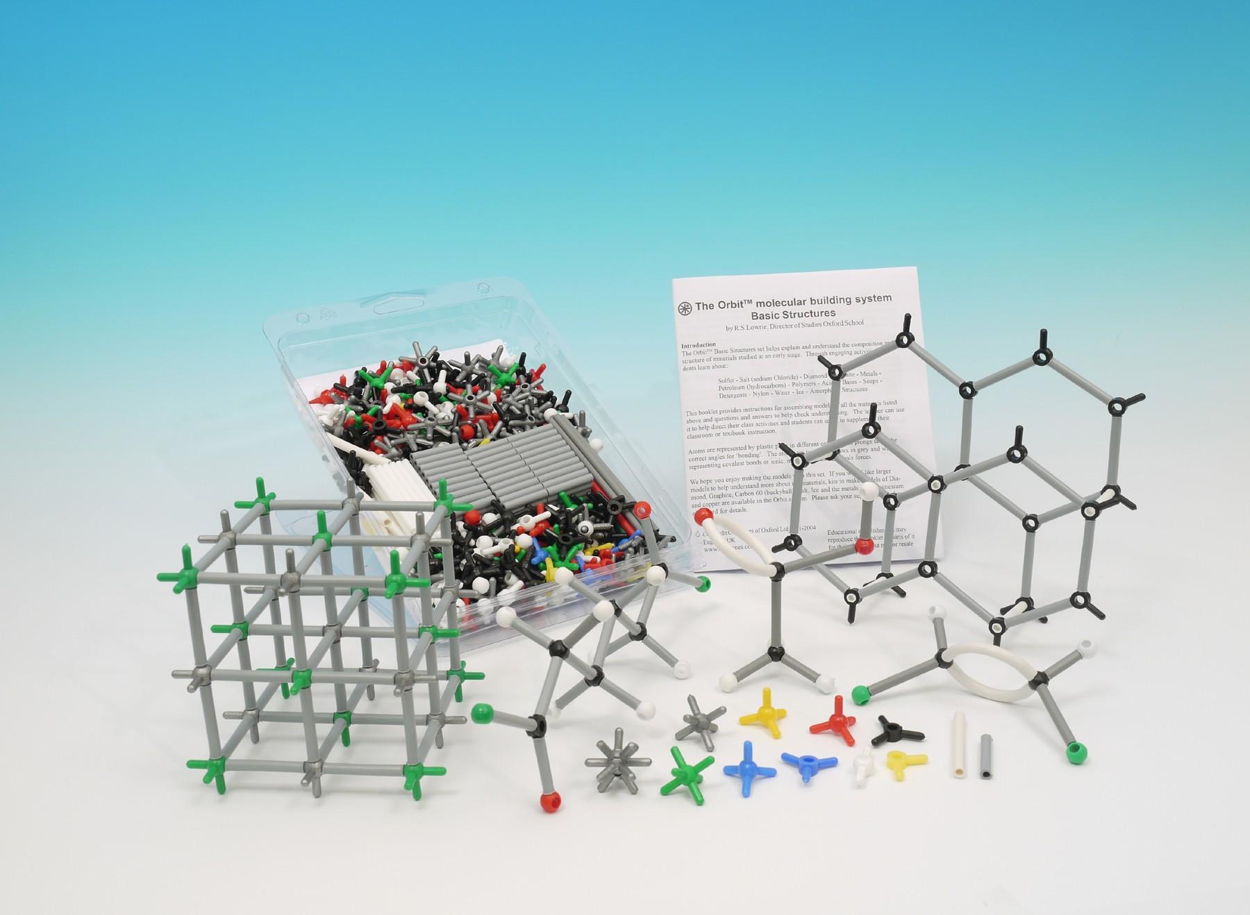 Basic Molecular Structures Individual Set