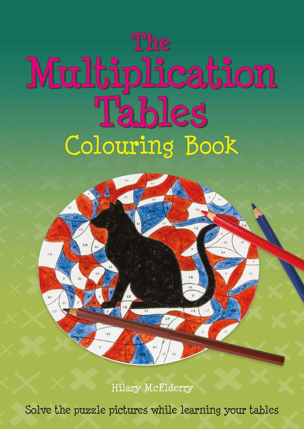 Multiplication Tables Colouring Book
