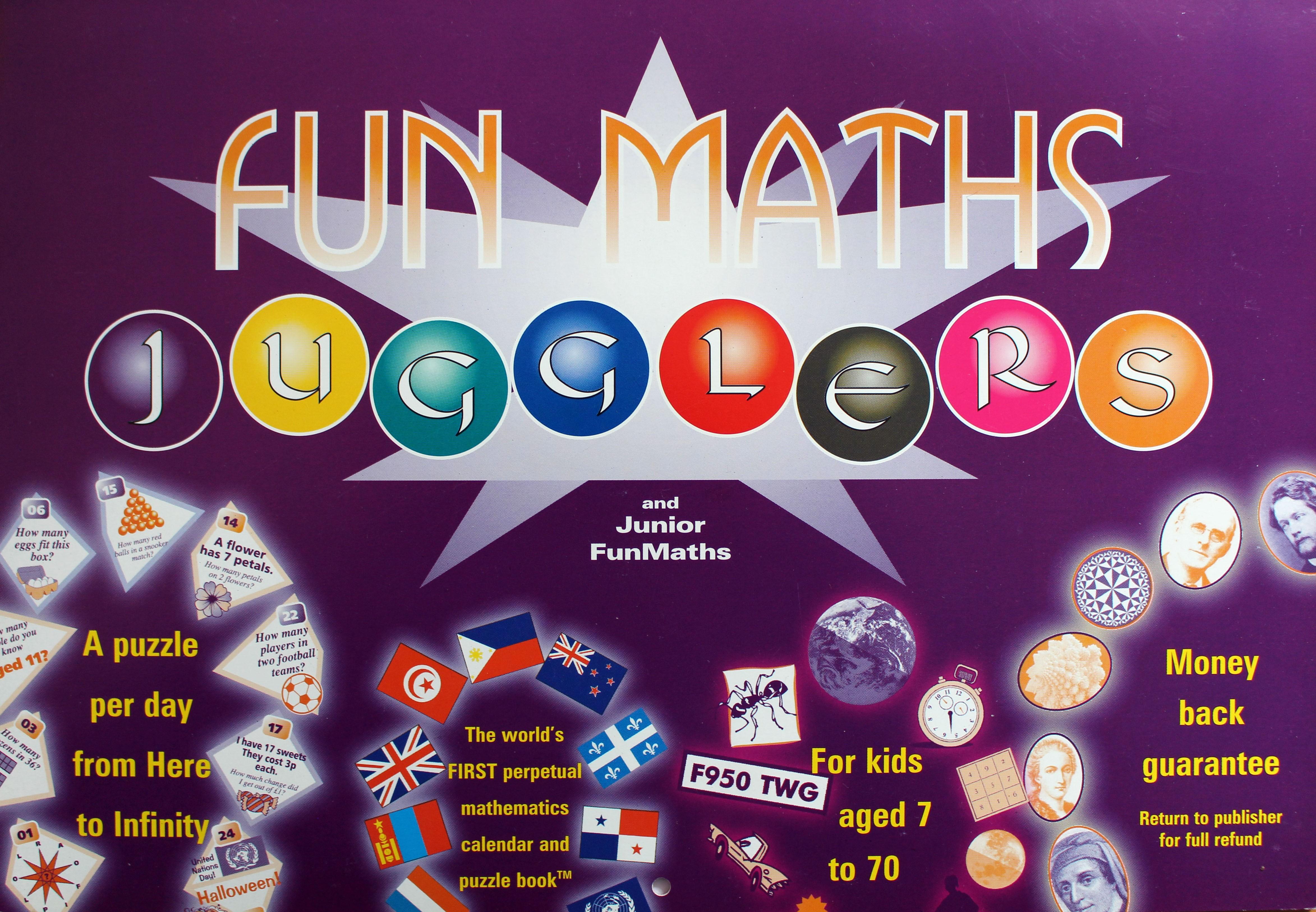 FunMaths Perpetual Calendar