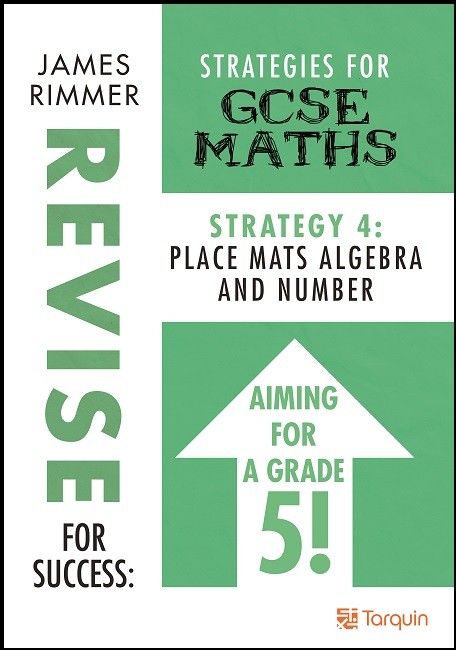 GCSE Revision - Place Mats Algebra and Number 9781911093831