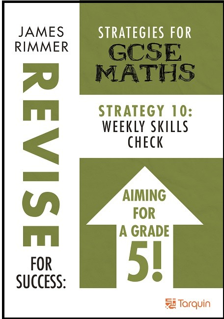 GCSE Revision Weekly Skills Check 9781911093992