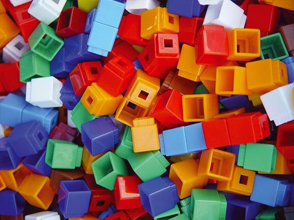 Simfit 1cm Cubes - Set of 500
