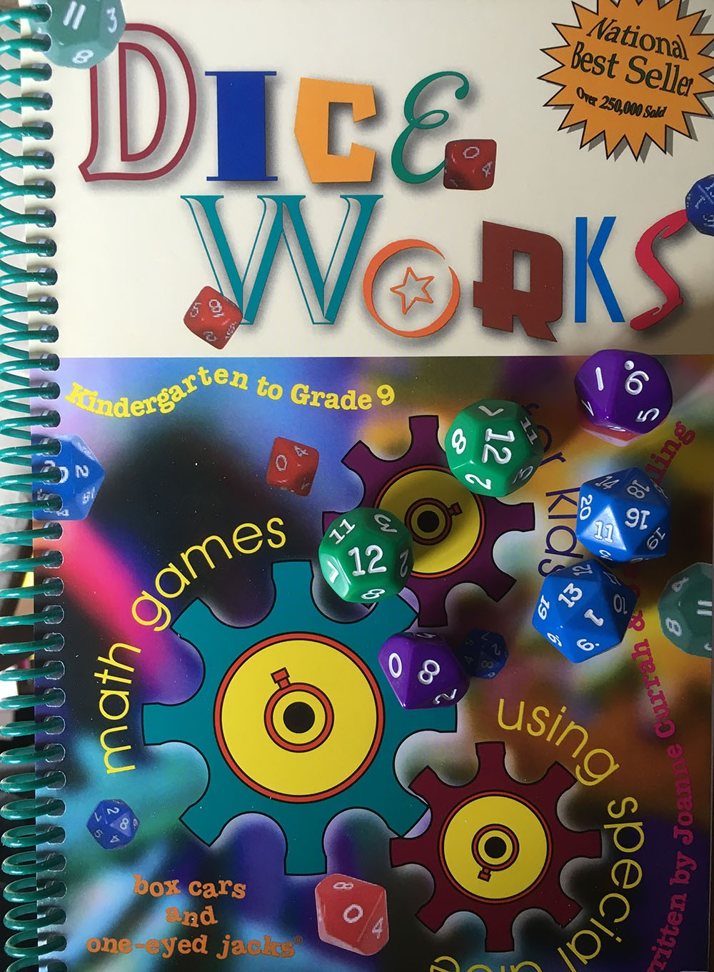 Dice Works: math games using special dice / Grades K-9 / Volume III
