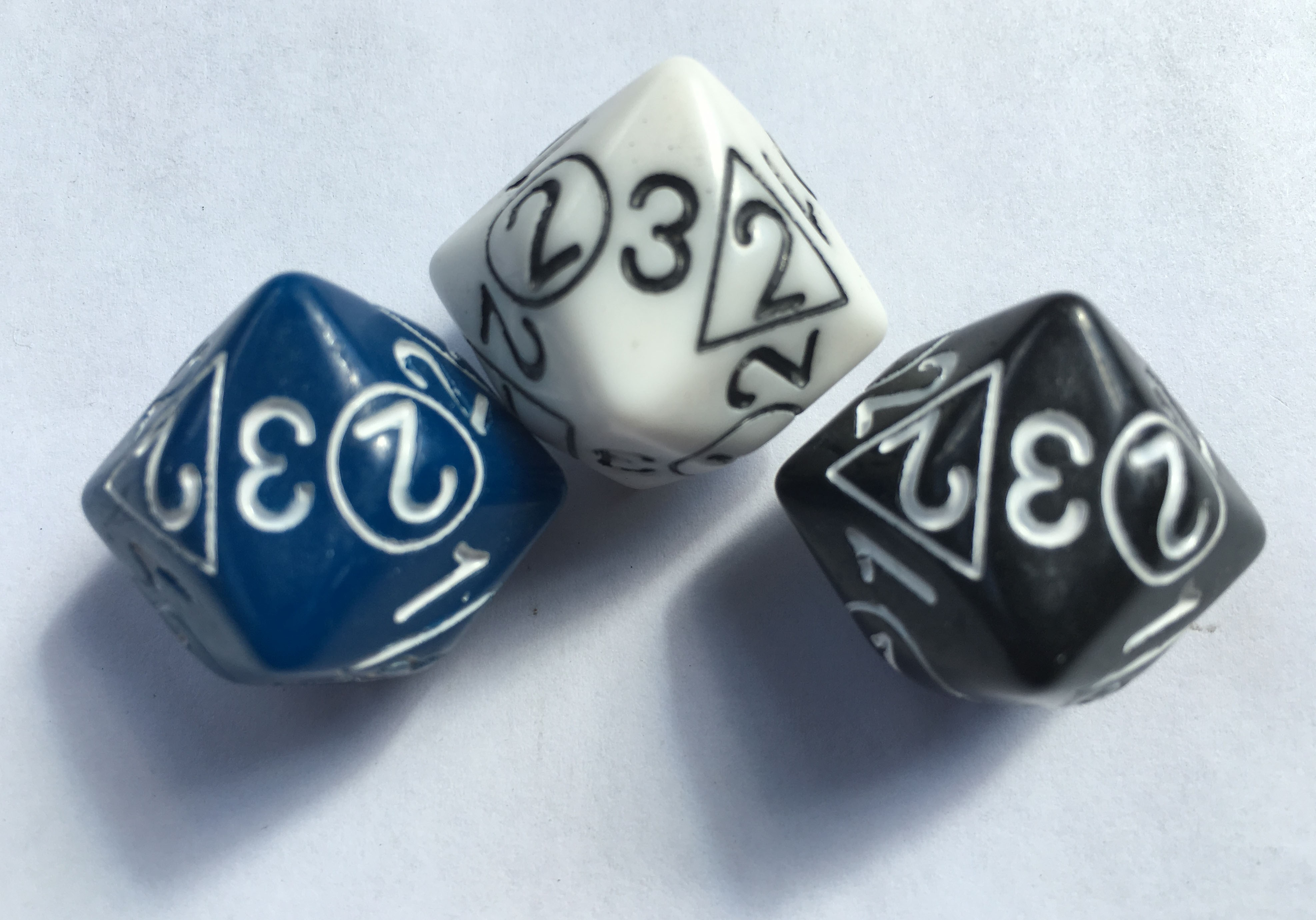 d2/3/4 MultiDice (Set of 3)