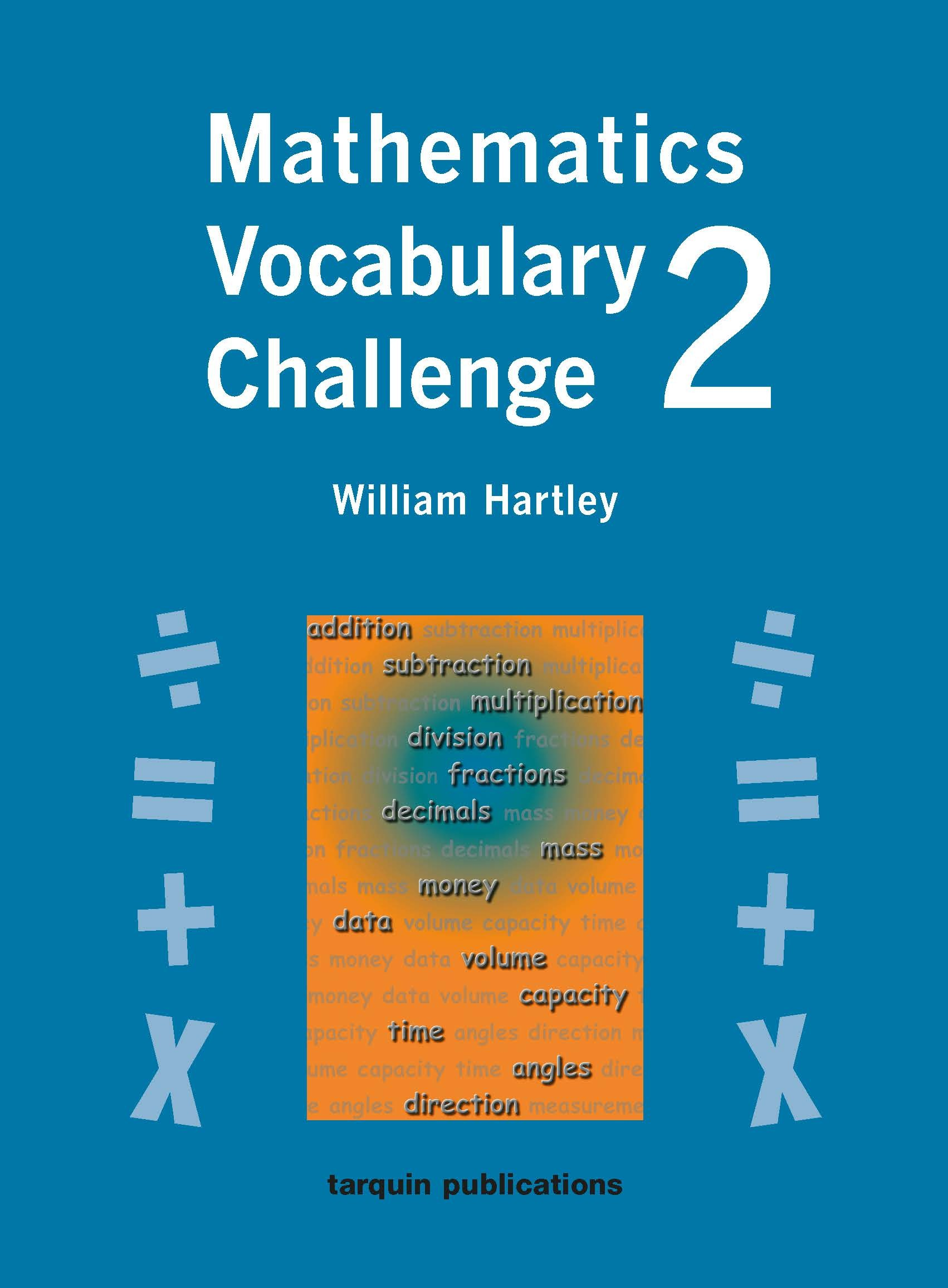 Mathematics Vocabulary Challenge Two: 36 Photocopiable Worksheets ...