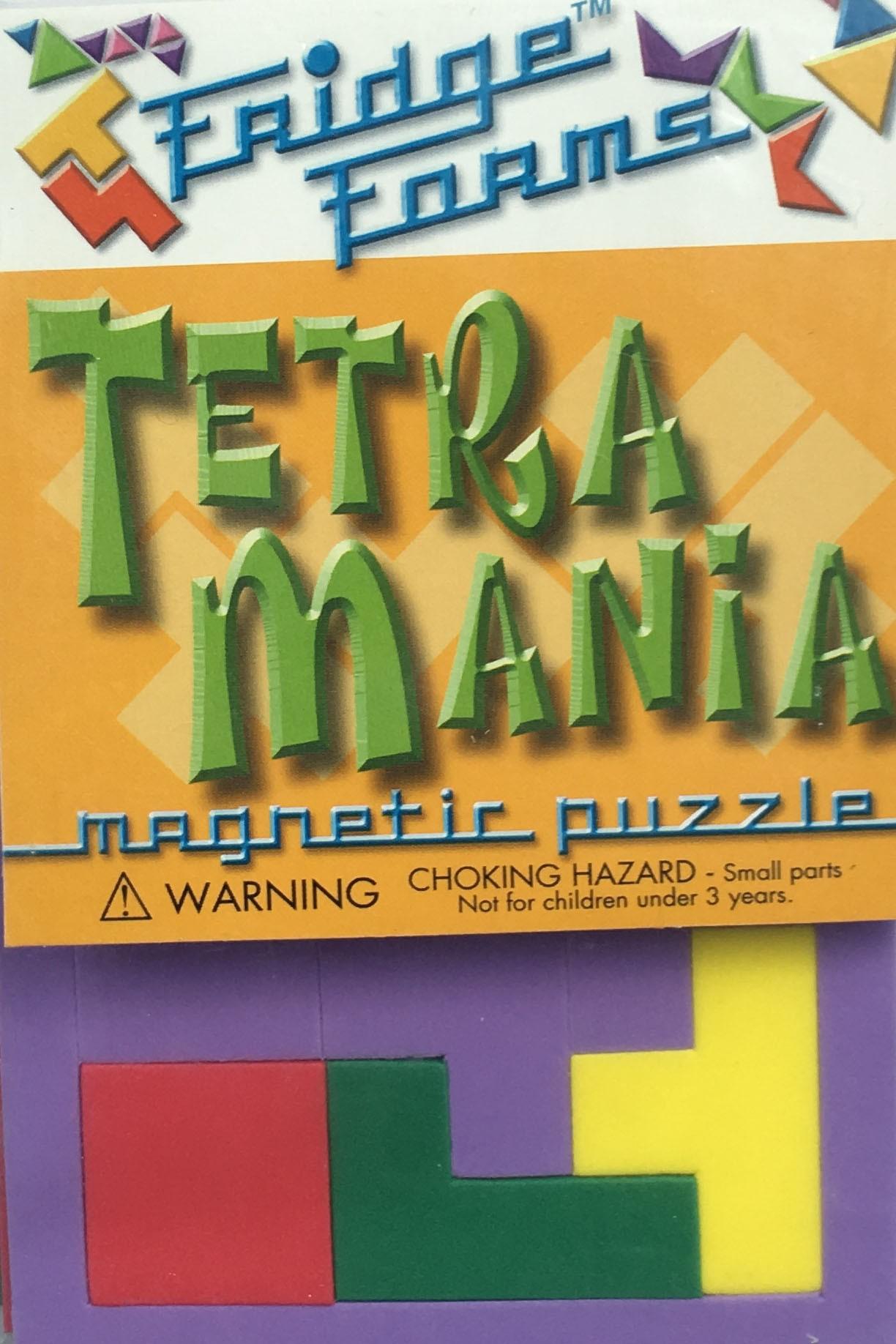 Tetra Mania - 60pc Magnetic Tessellation