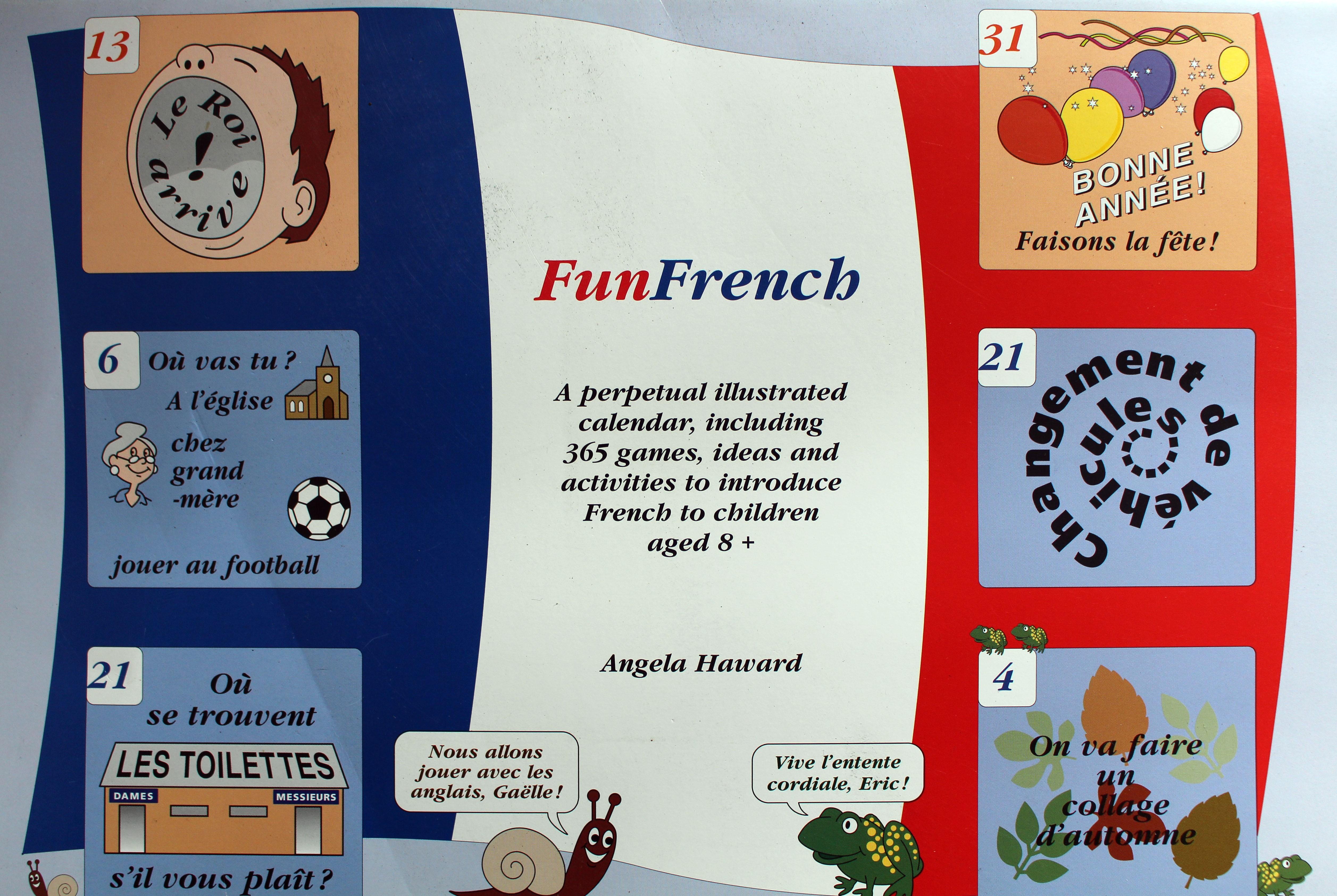 Funfrench: Activity Calendar