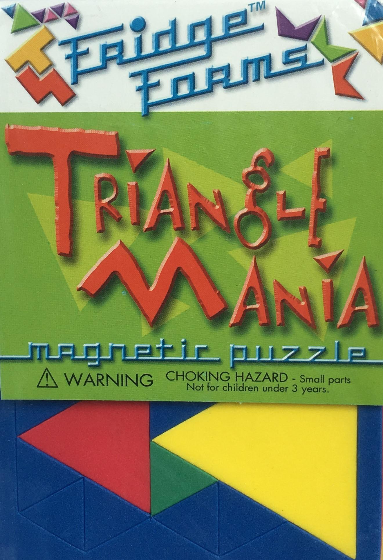 Triangle Mania - 72pc Magnetic Tessellation