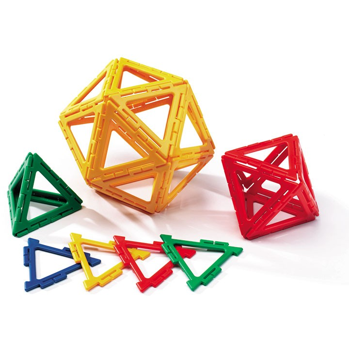 Polydron Frameworks Equilateral Triangles - Set of 160