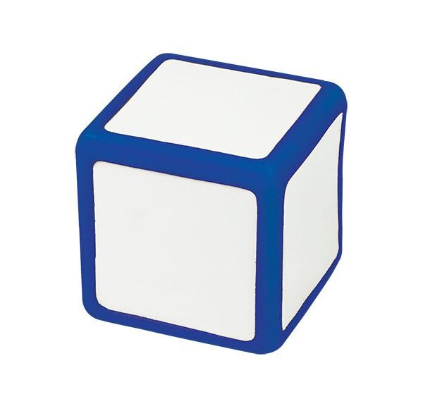 Large Rewriteable Dice: Write On/Wipe Off 6 Face 5cm