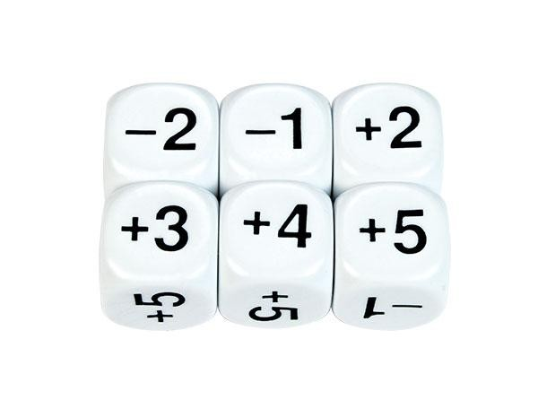 22mm Arithmetic Sum Dice (pack of 5)