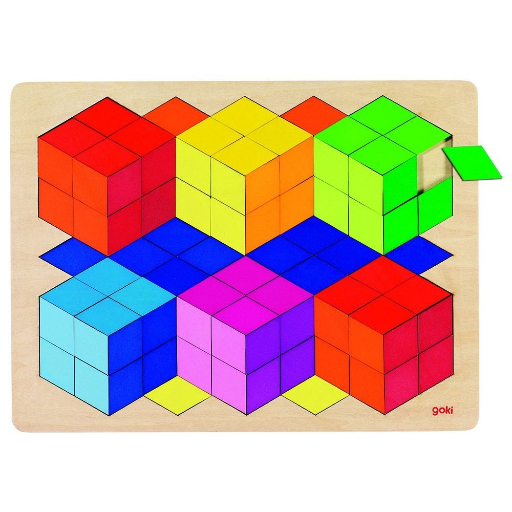 3D Illusion Puzzle