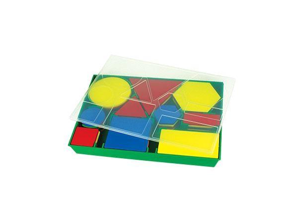 Attribute Block - 60 Piece Set in Plastic Tray