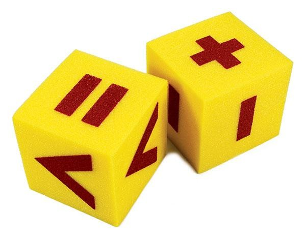 Giant Pair of Operations Dice: 125mm Foam