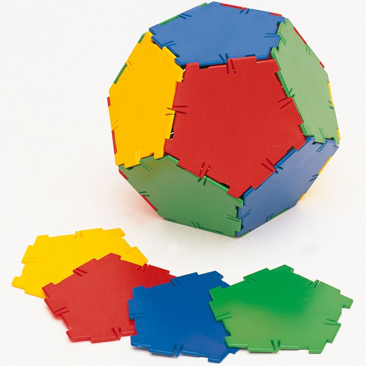 Polydron Pentagon Set of 24