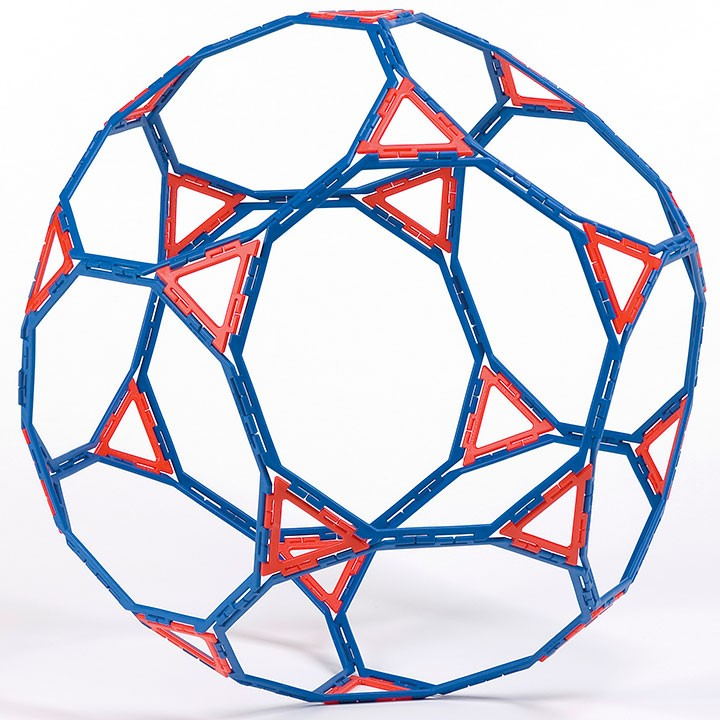 Polydron Frameworks Decagons (set of 12)