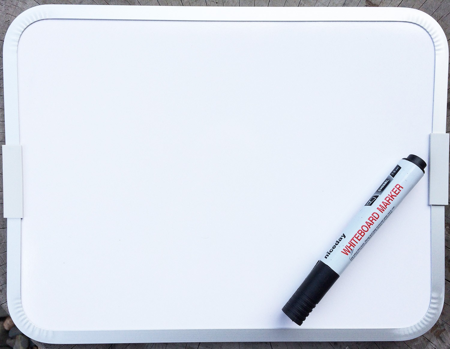 Easy Wipe Magnetic Double Sided Whiteboard and Dry Erase
