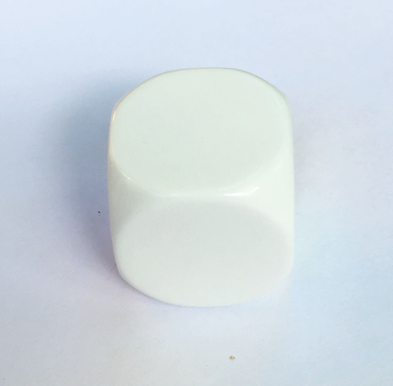 22mm Blank White Single