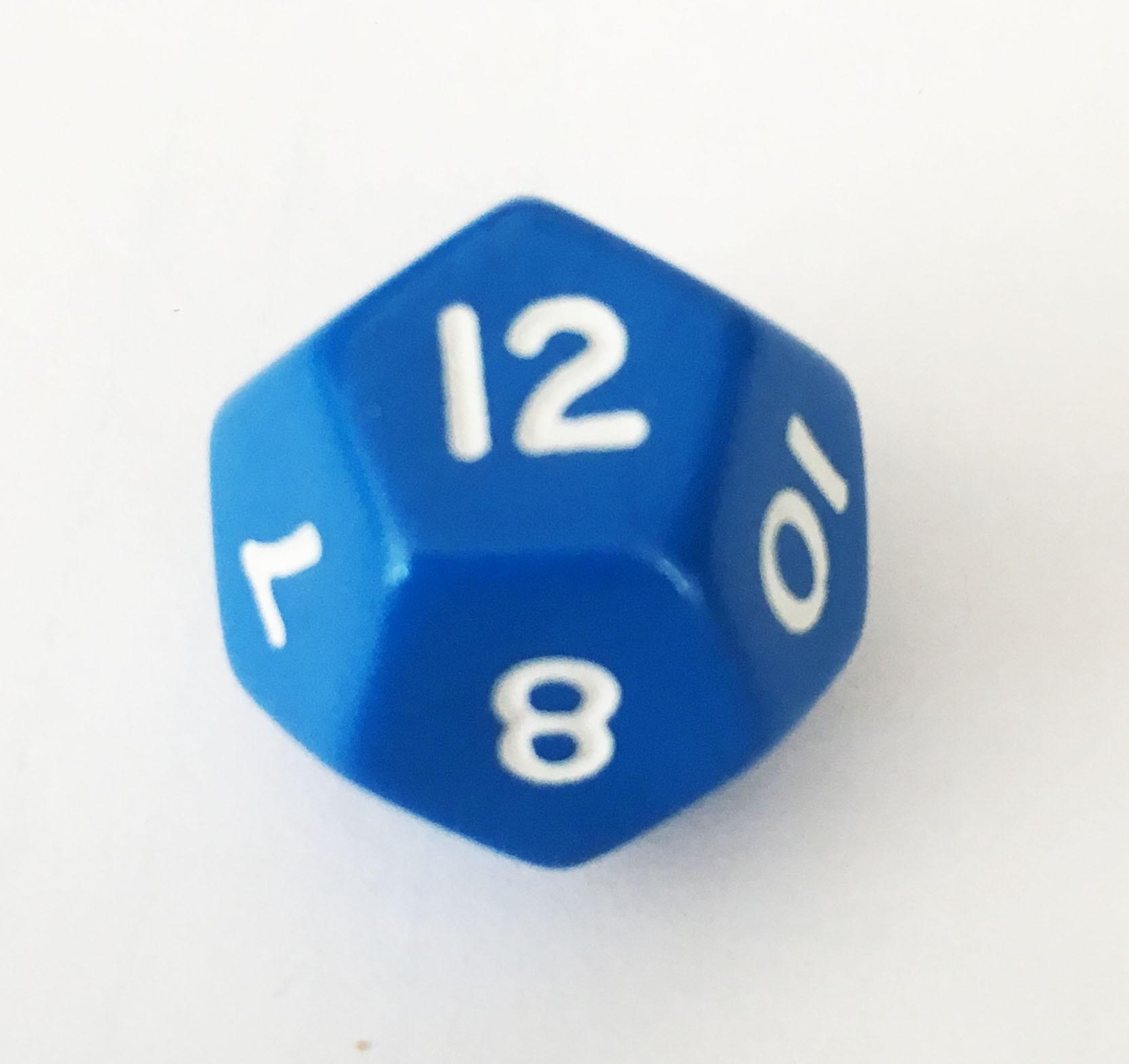 D12 - Twelve Sided Single Die