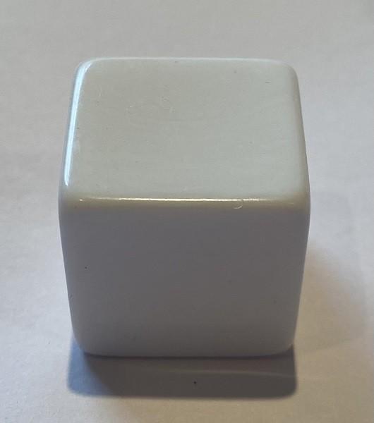D6 Jumbo Blank White