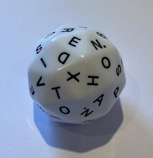 dLX Alphabet Dice