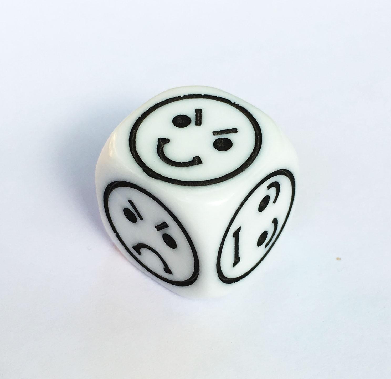 Single 16mm Emoticon Die