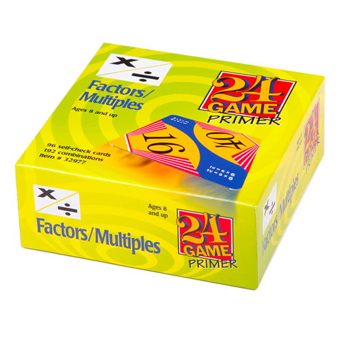 24 game factors and multiples larger pack