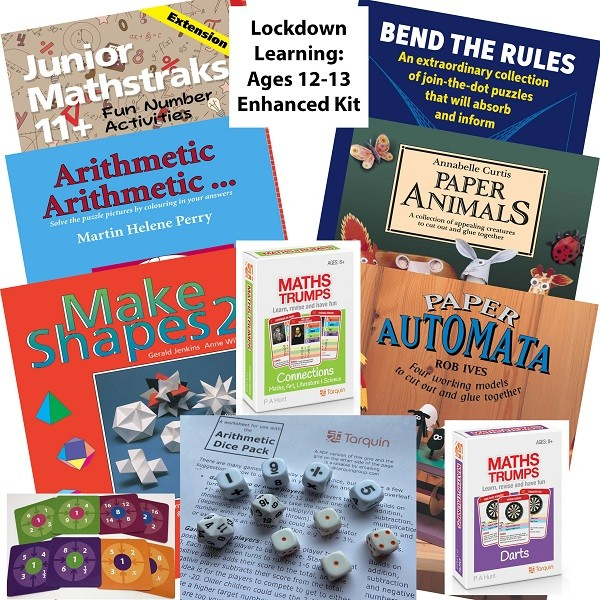 Lockdown Learning Enhanced Kit - Fun for 11-12 Year Olds