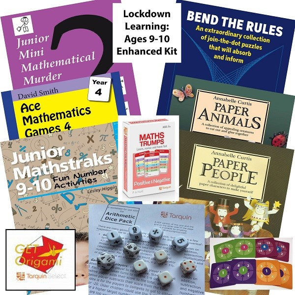 Lockdown Learning Enhanced Kit - Fun for 9-10 Year Olds
