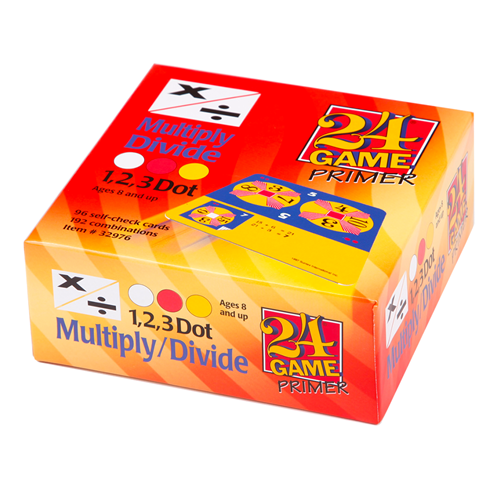 24 game multiply and divide larger pack
