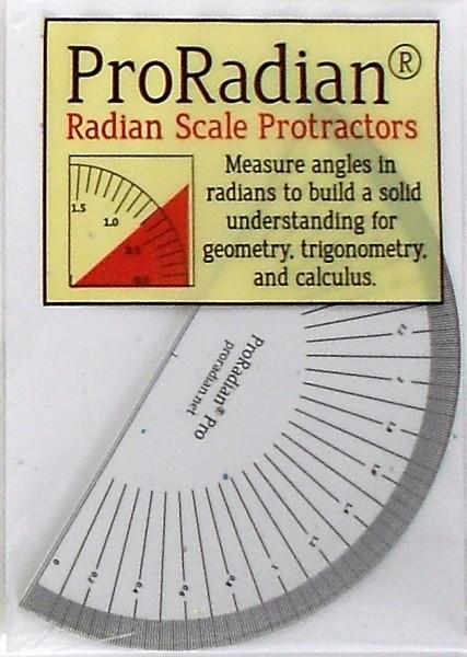Radian Protractors - Professional 0.01 Radian Scale