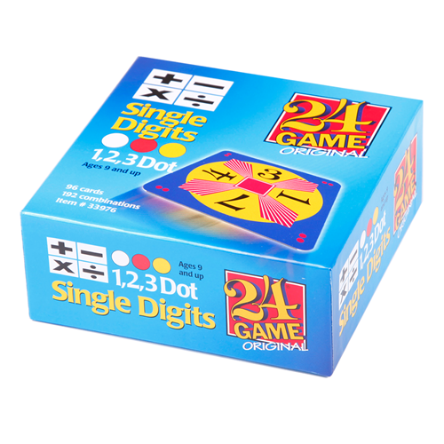 24 Game Single Digit 48 Pack