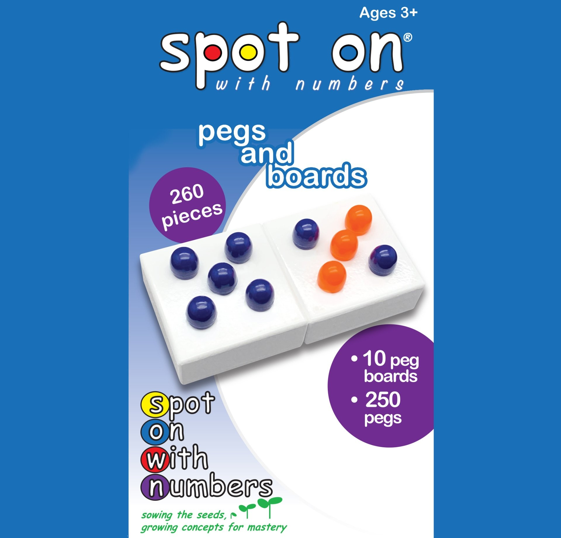 Spots On Pegs and Boards