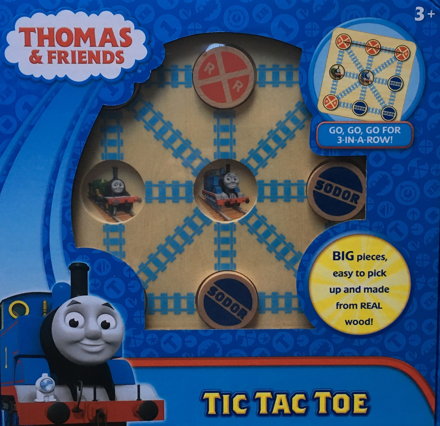 Thomas Wooden Noughts and Crosses