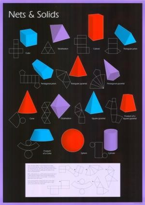 Nets and Solids Poster