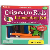 Wooden Cuisenaire Rods - Teachers Introductory Set