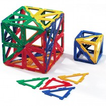 Polydron Frameworks Right Angle Triangles Set of 100