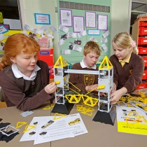 Polydron Bridges of the World (Age 7+) - build your own bridge!