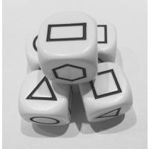 Geometric Shape Dice
