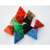 4 sided dice (pack of 12)