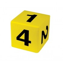 Huge Soft Dice 125mm 6 Face Number Vinyl Coated